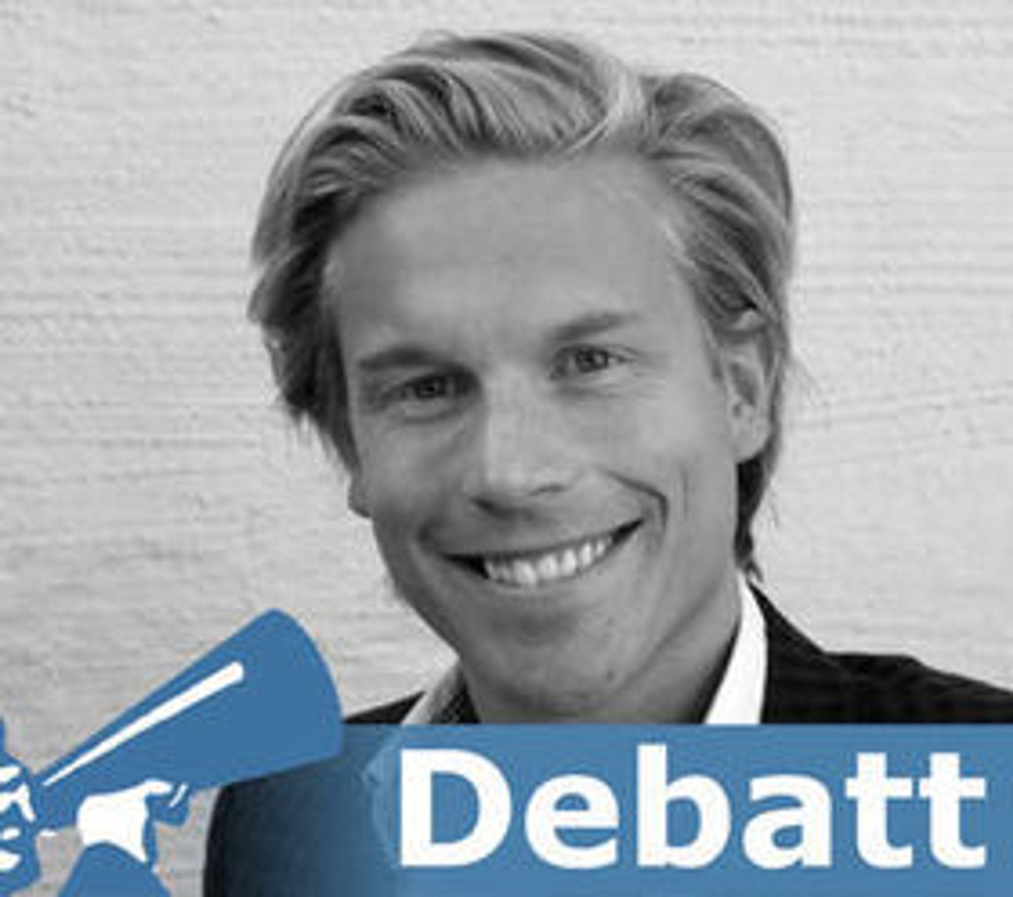 Christoffer Hernæs er partner i Core Group.
