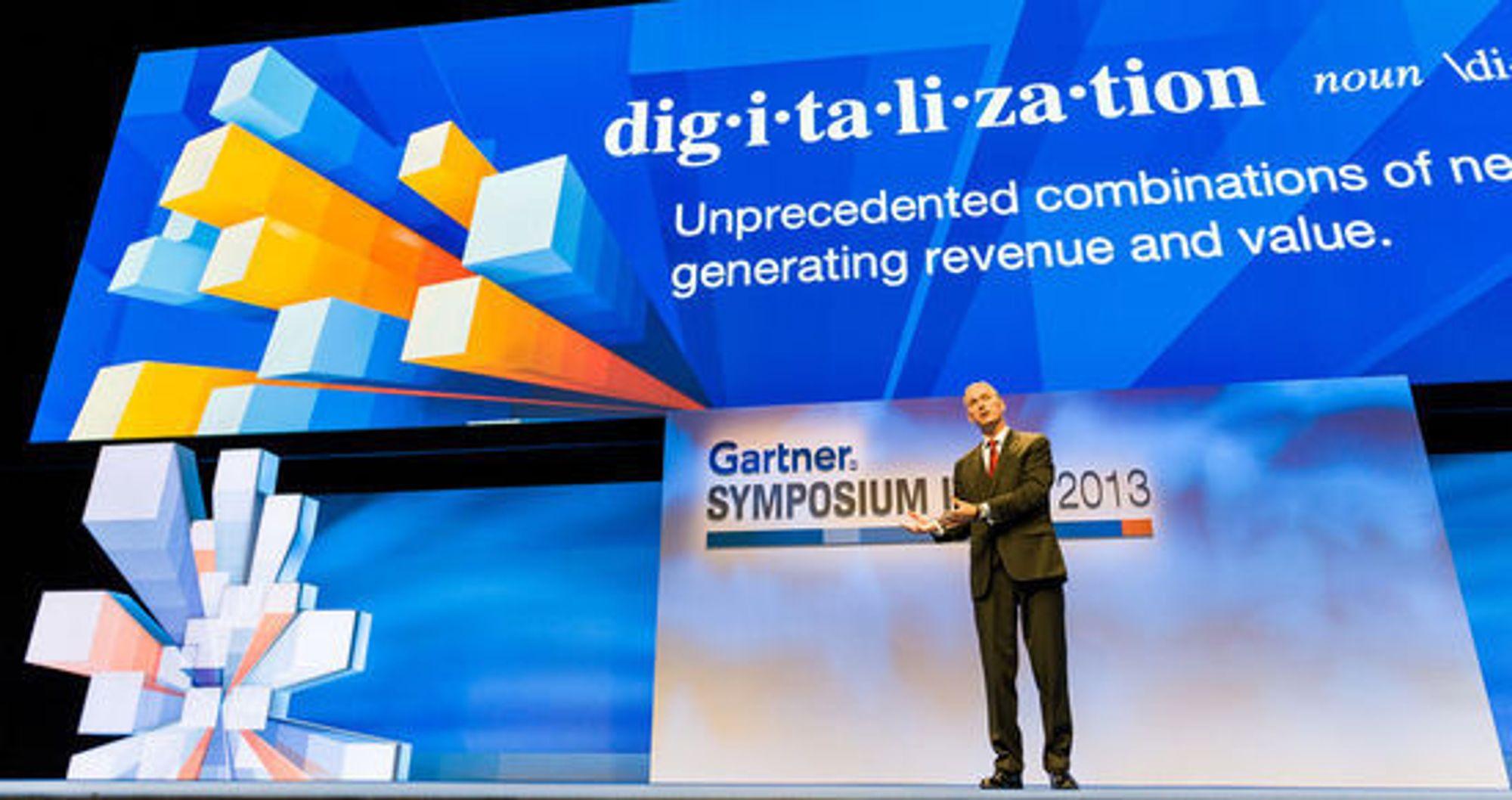 Ingen liker ordet digitalisering. Men det brukes flittig, og må defineres, ikke minst av Peter Sondergaard.