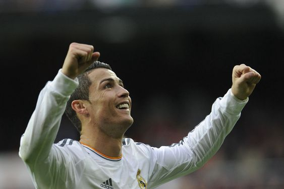 Real Madrids superstjerne Cristiano «RonalDOS» eller Ronaldo som han er mest kjent som.