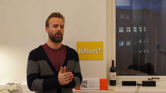 Johan Brand er en av grunnleggerne i Kahoot!.