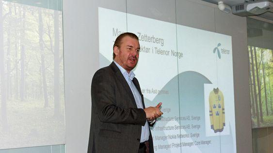 Magnus Zetterberg ser frem til VoLTE og andre tjenester Telenor jobber med.