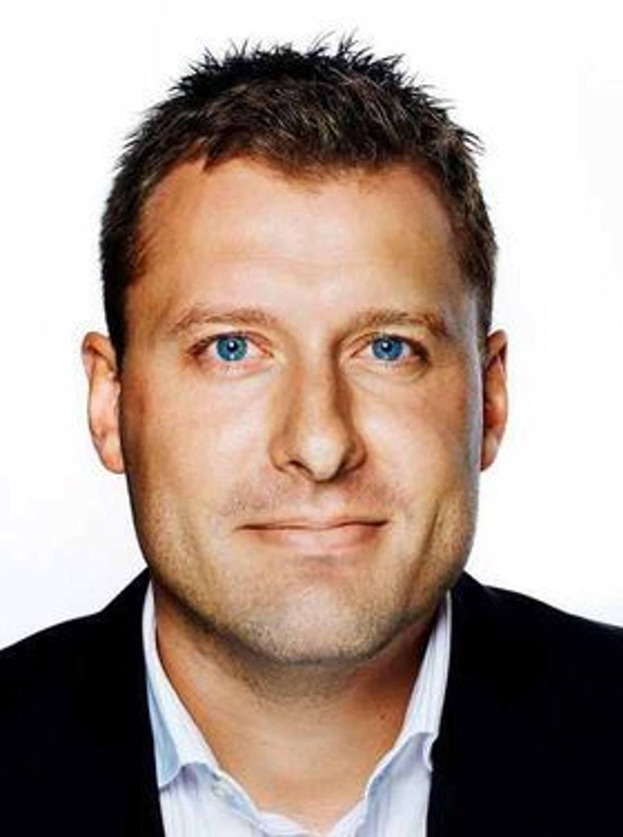 Kort opphold i Netcom: Severin Roald går nå videre til Telenor.