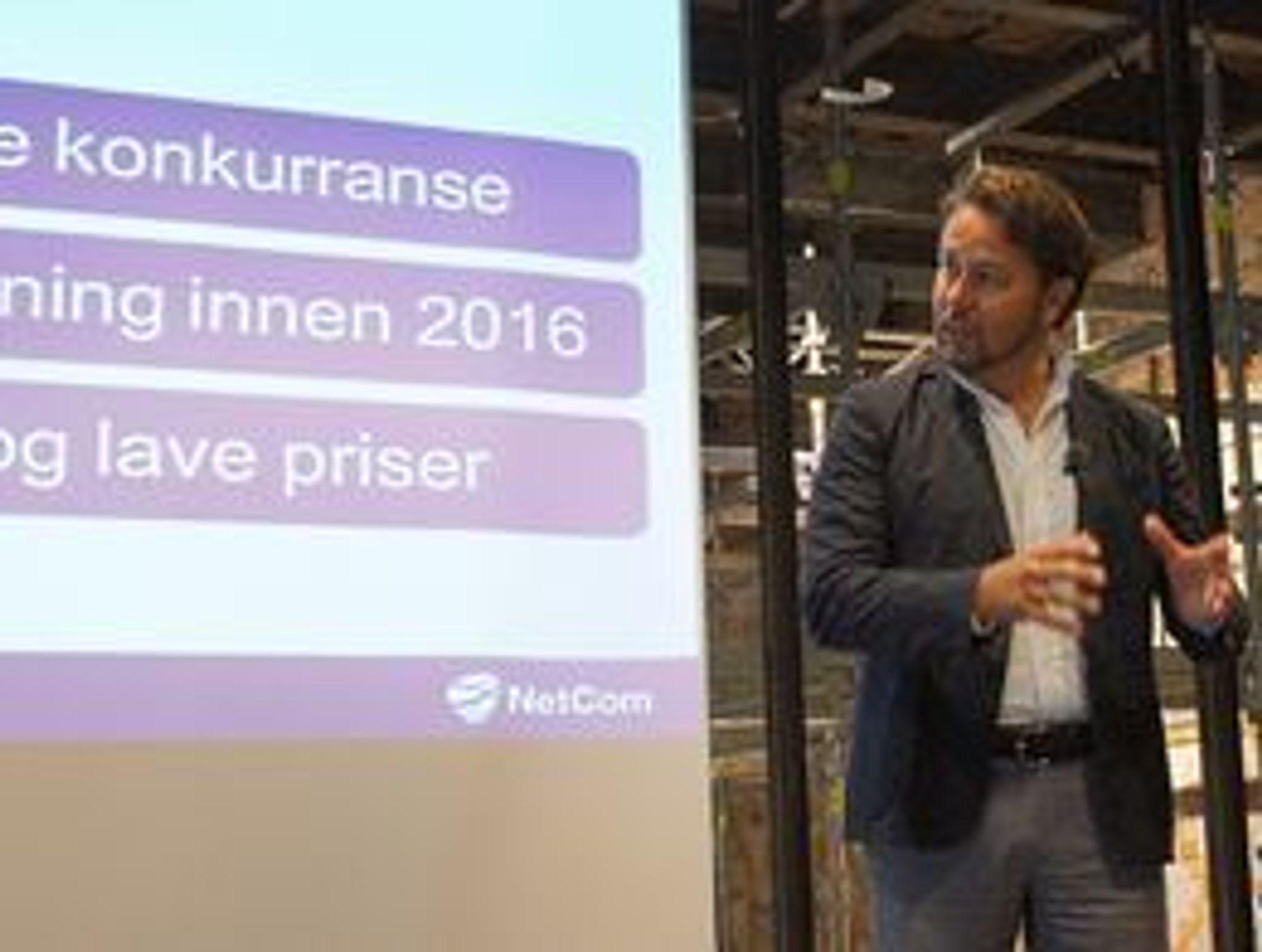 Tele2-sjef Arild Hustad