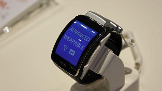 Gear S er Samsungs ferskeste smartklokke.