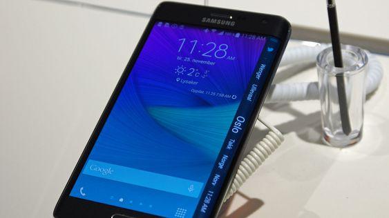 Galaxy Edge er en stilig telefon som slippes først senere i desember.