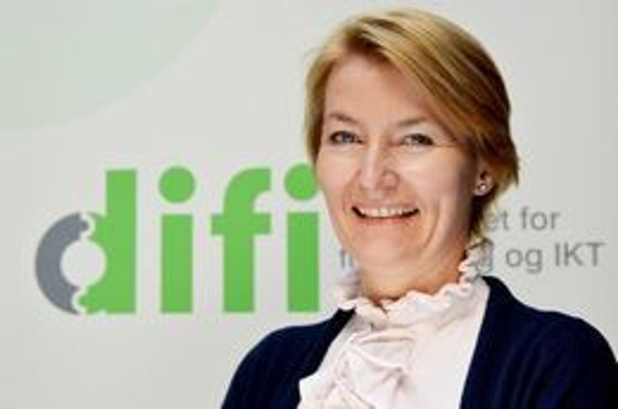 ENKELT: Vi er opptatt av at det skal være enkelt å reservere seg, sier fagdirektør Birgitte J. Egset i Difi.