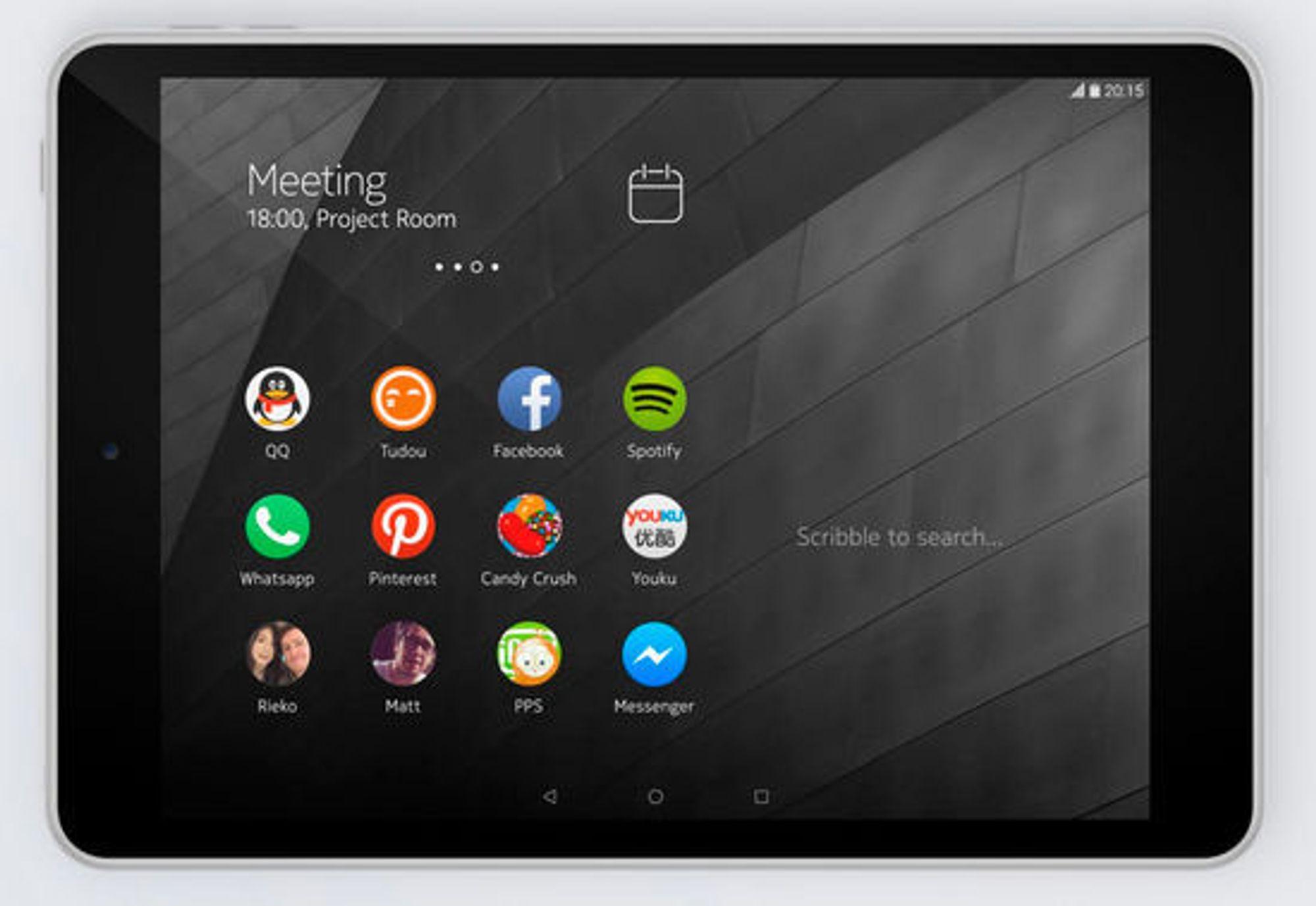 Operativsystemet er Android 5, med et eget Nokia-grensesnitt.