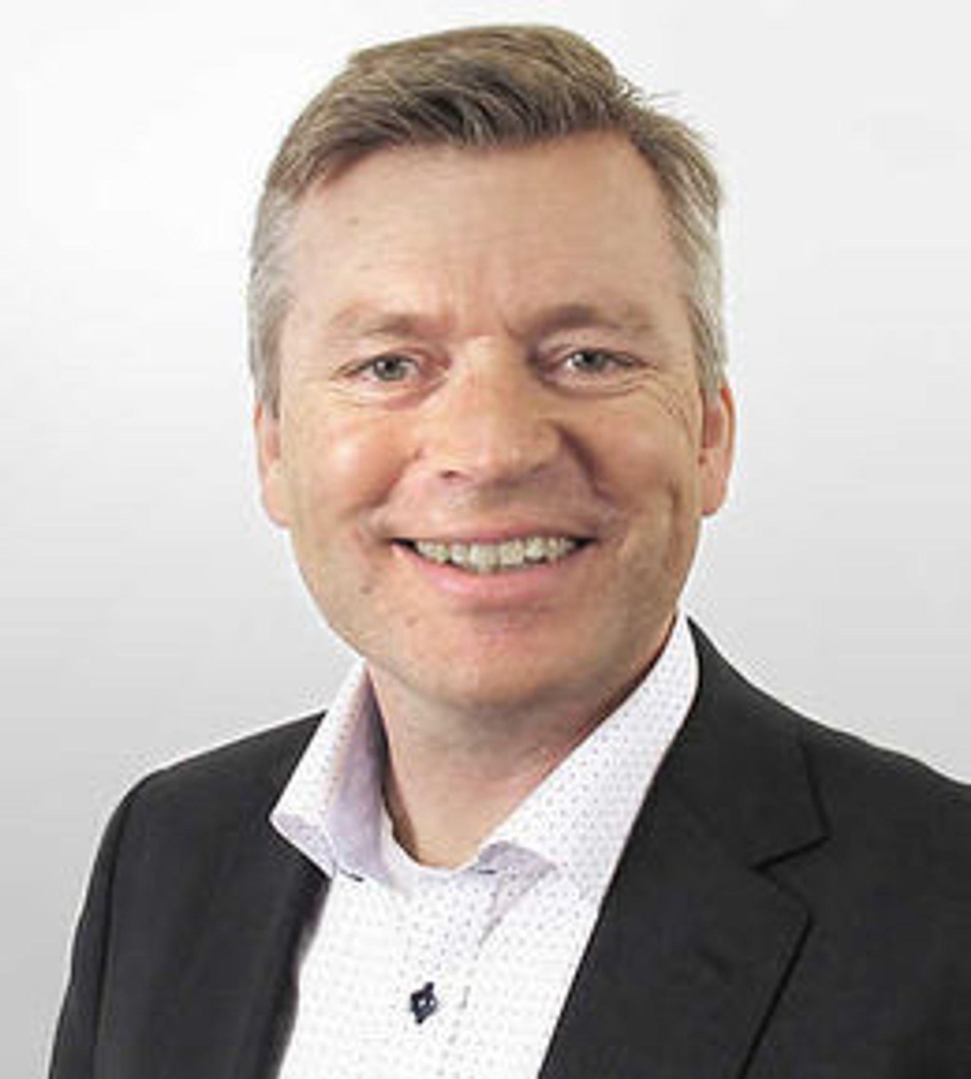 Knut Abrahamsen er salgssjef for storkunder i Broadnet.