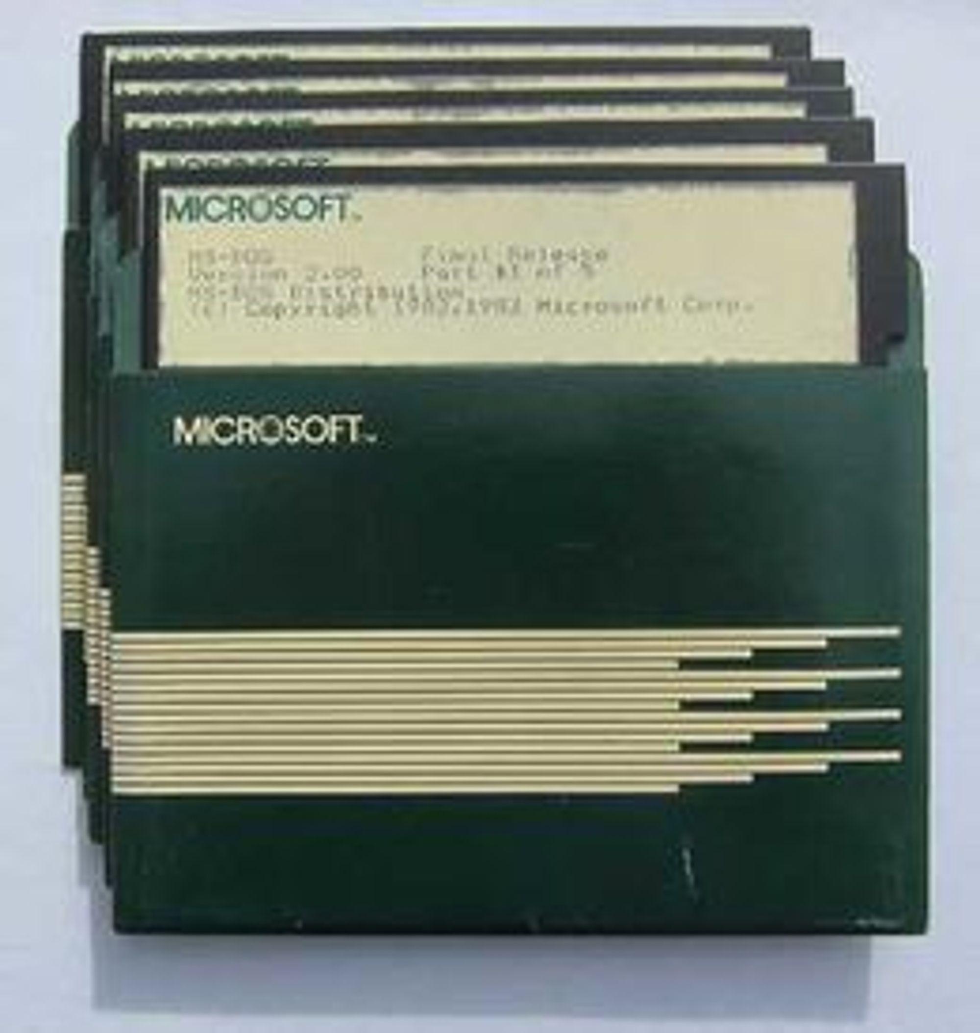Floppy! En gang et viktig lagringsmedium. I dag er det vel stort sett bare i helsevesenet at disketter fortsatt blir brukt...