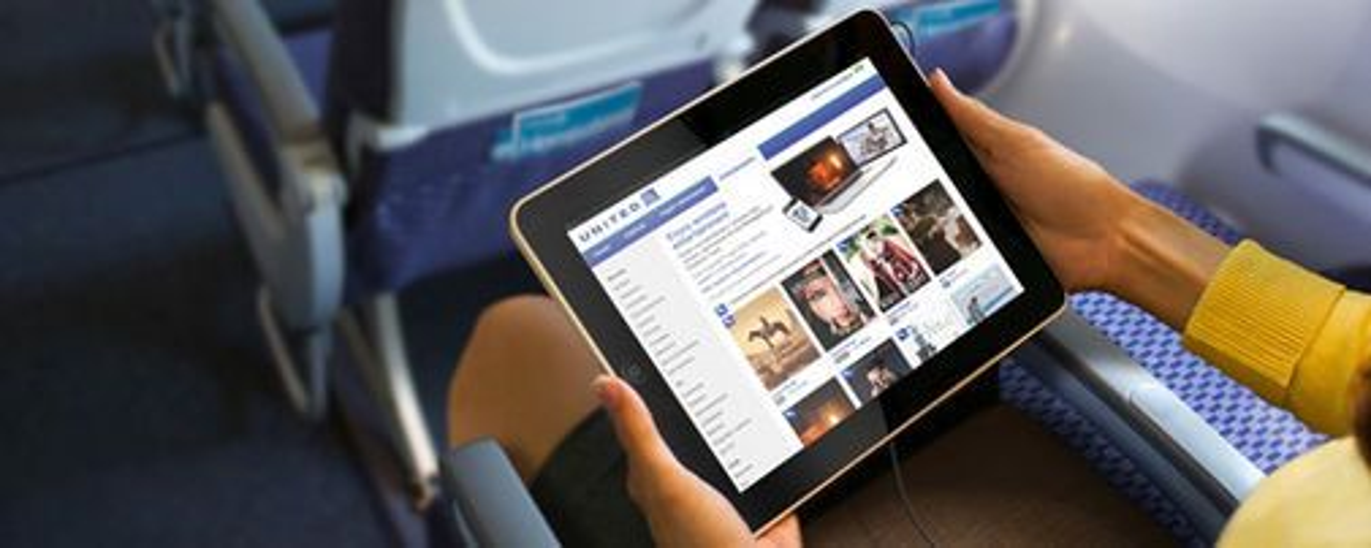 Via selskapets app, kan United Airlines-passasjerer snart strømme filmer og tv-programmer til sin egen enhet ombord på flyet.