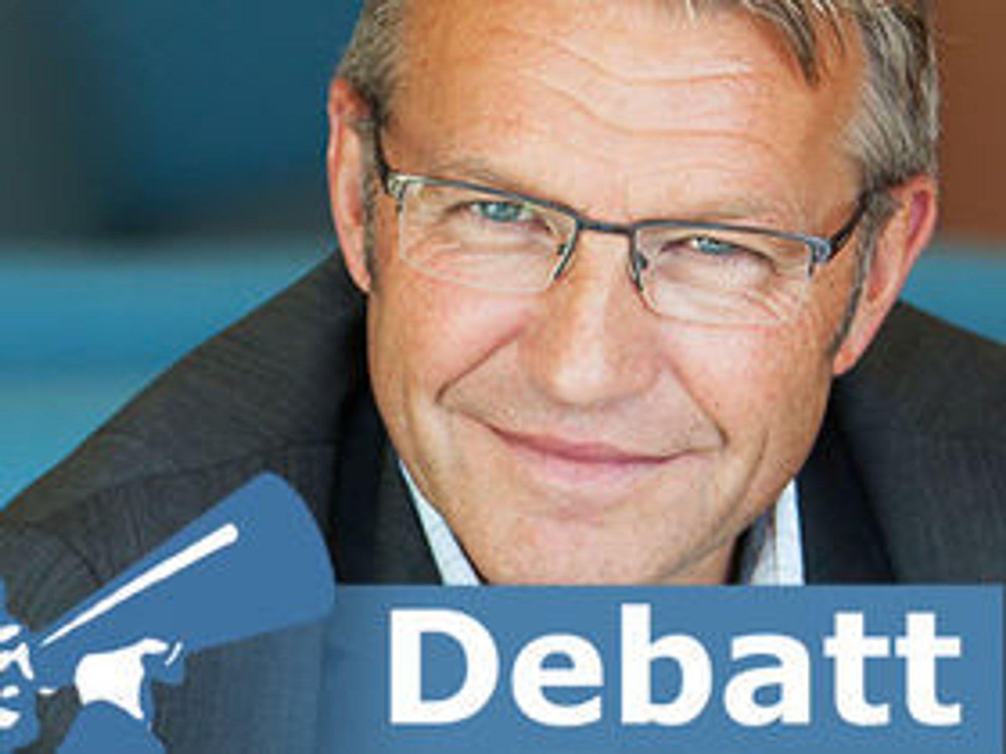 Forfatter av debattinnlegget, Vidar Lødrup, er direktør for kunnskapsledelse i Abelia.