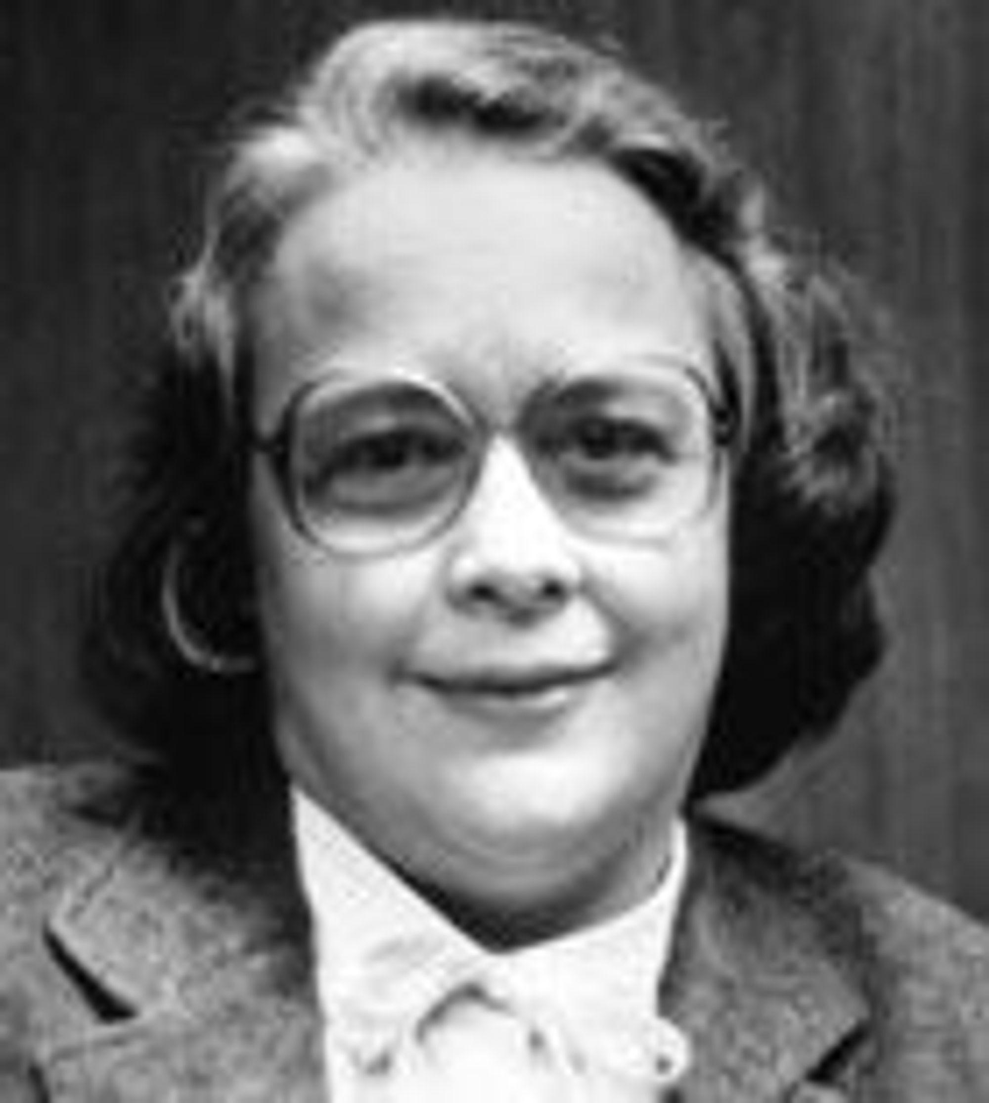 Lois Haibt bidra til utviklingen av programmeringsspråket FORTRAN.