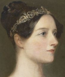 Ada Lovelace malt i 1835.