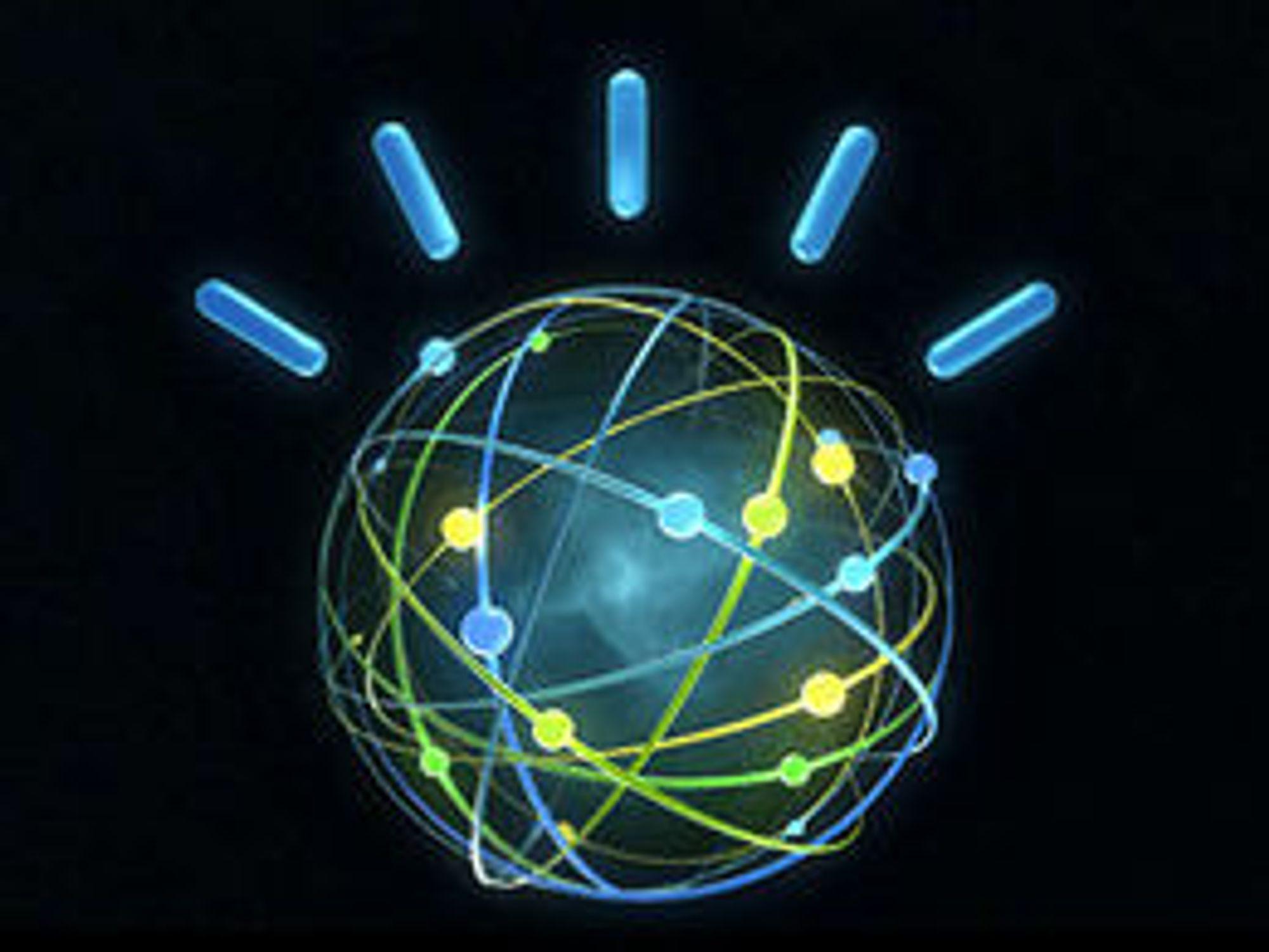 Watson-logoen ligger an til å bli blant IBMs mest kjente.