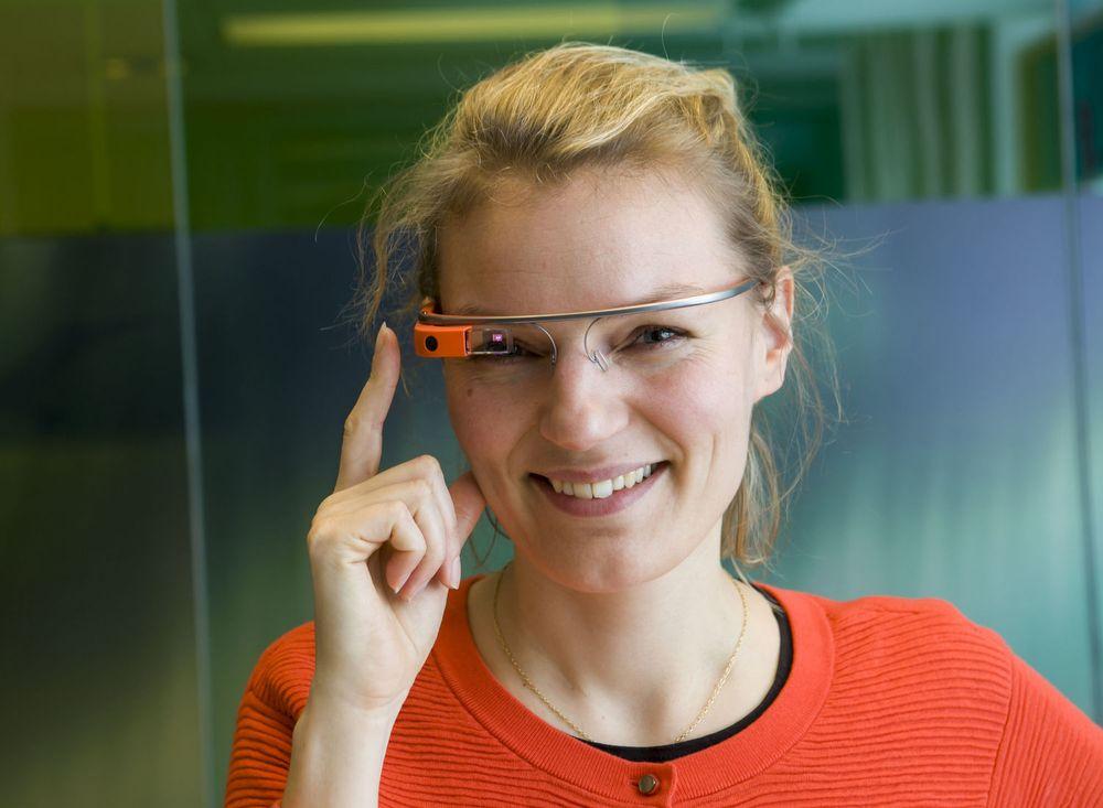 Christine Sørensen ved Google Danmark har tidligere demonstrert Google Glass for digi.no.