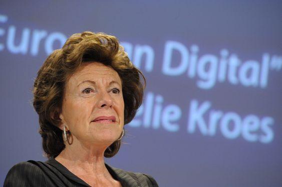 Visepresident i EU-kommisjonen, Neelie Kroes, er svært optimistisk på den europeiske app-industriens vegne.