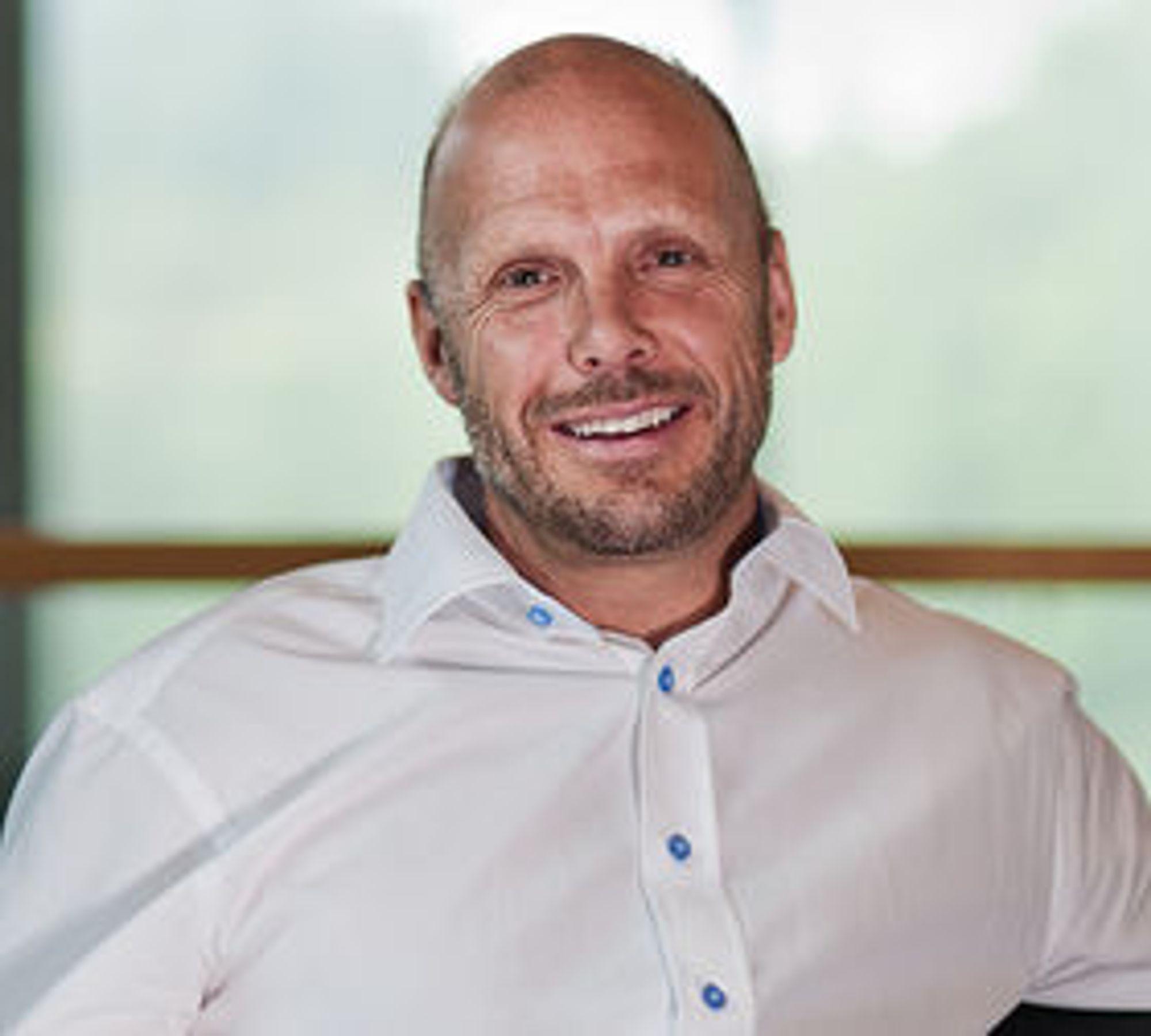Bjørn Haugland, daglig leder i Symphonical, har fått napp hos en virkelig storkunde.