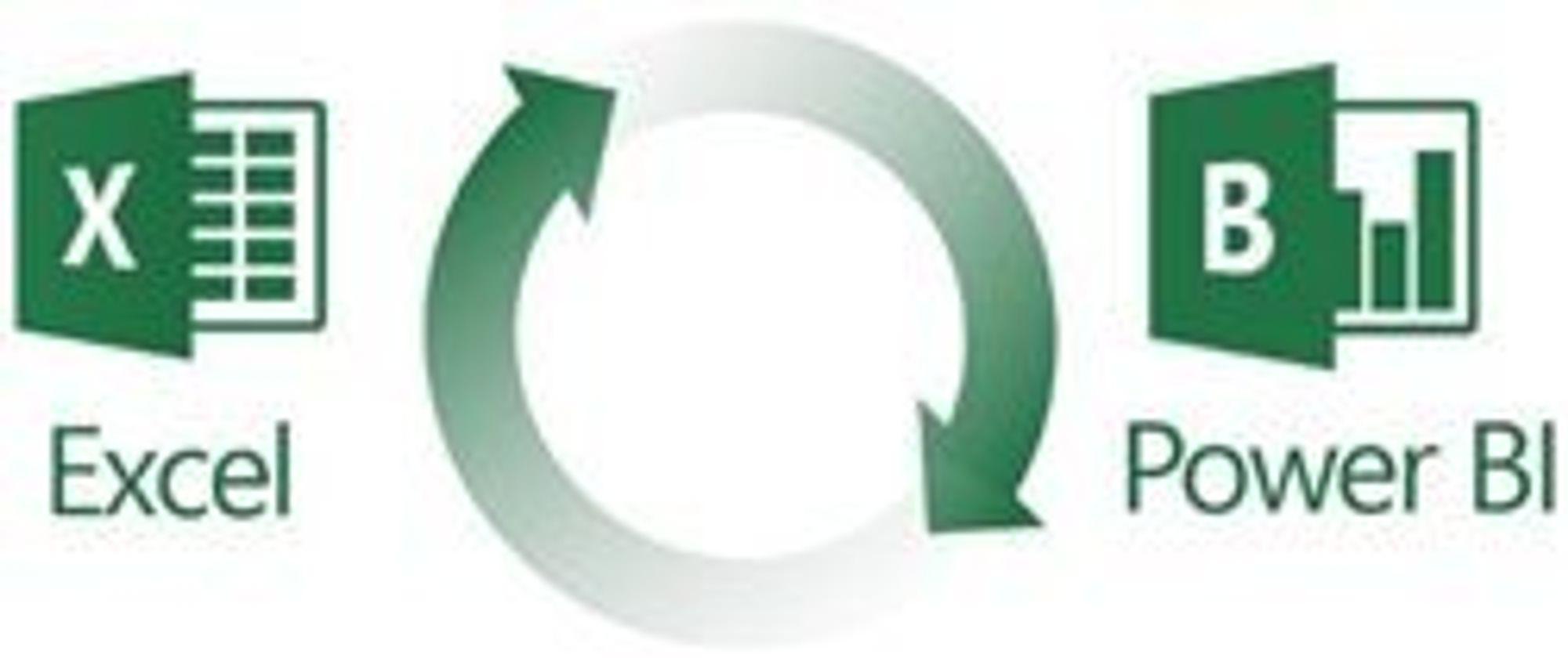 Power BI innbyr til selvbetjent beslutningsstøtte gjennom Excel, ifølge Microsoft.
