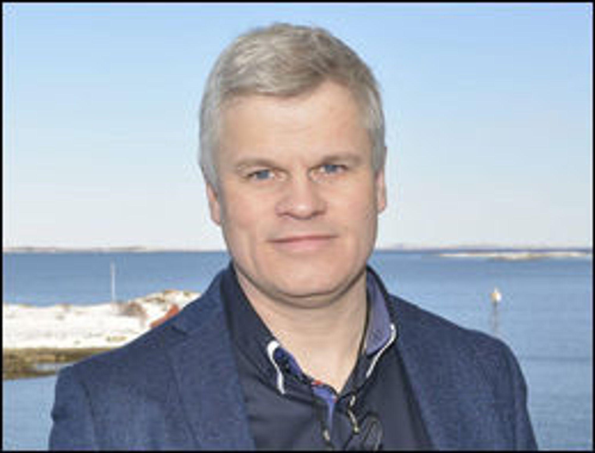 Jørgen Ferkingstad er kommunikasjonsansvarlig for Altinn.