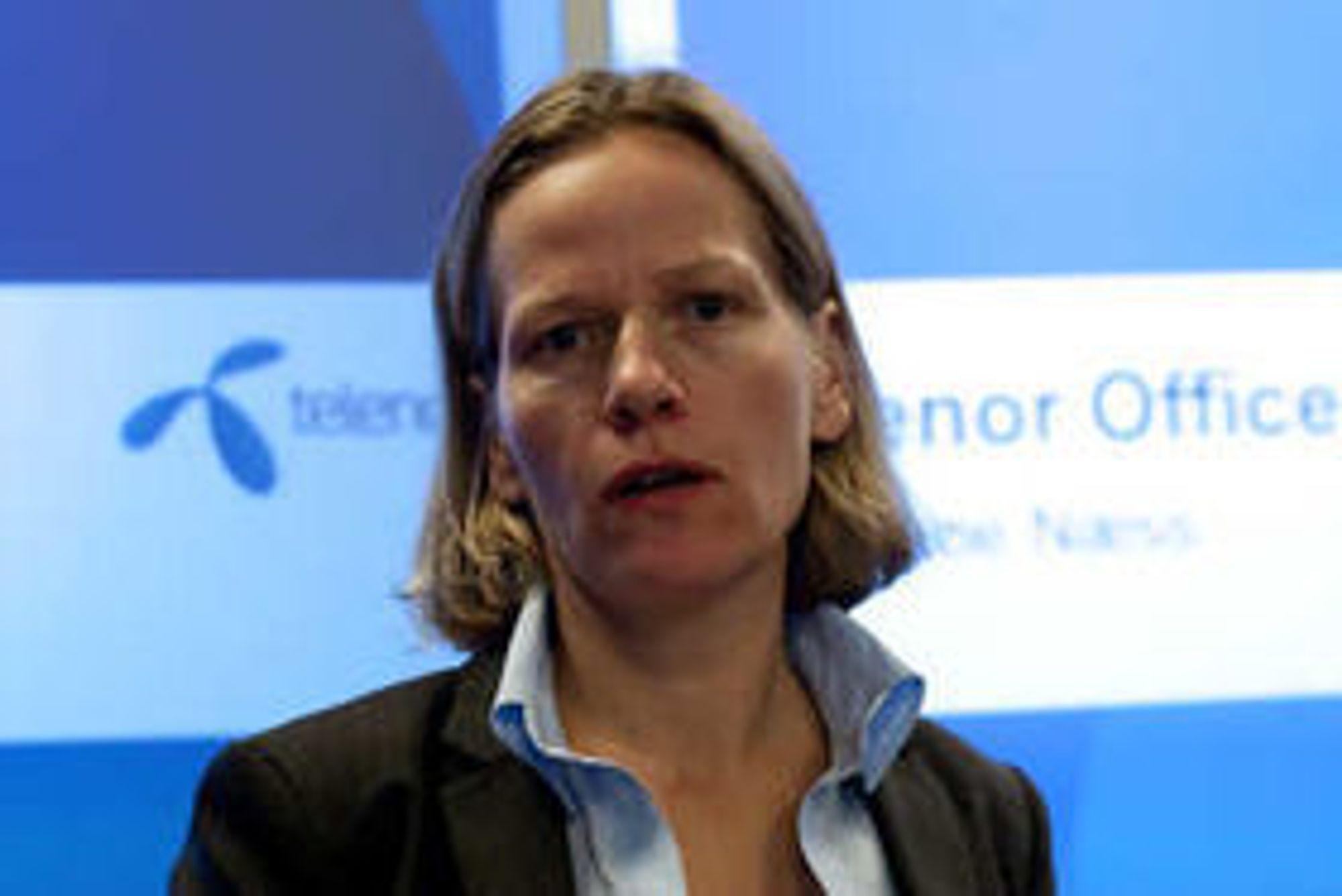 Annelene Næss i Telenor.