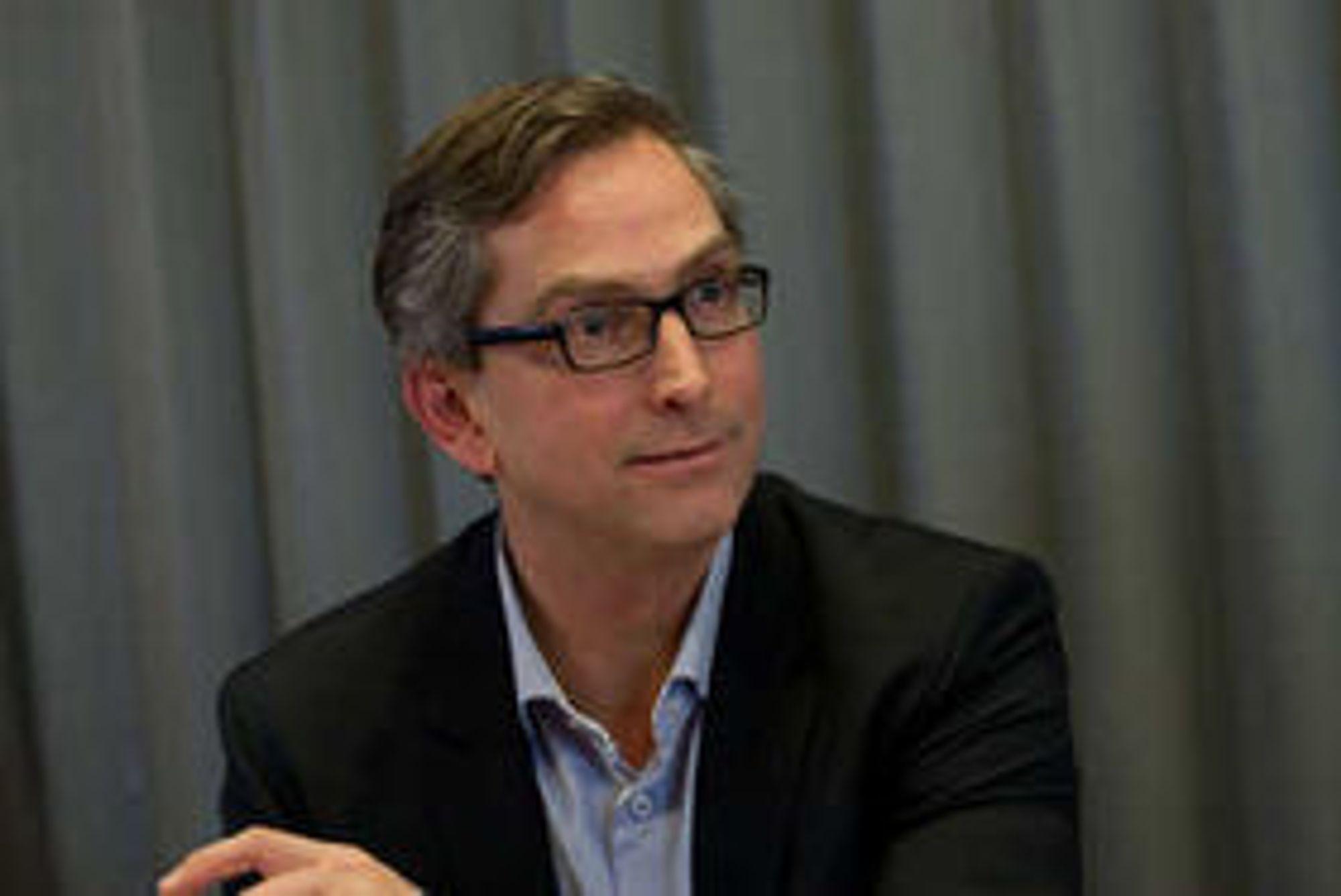 Dataene er trygge, hevder Microsoft-sjef Michael Jacobs.