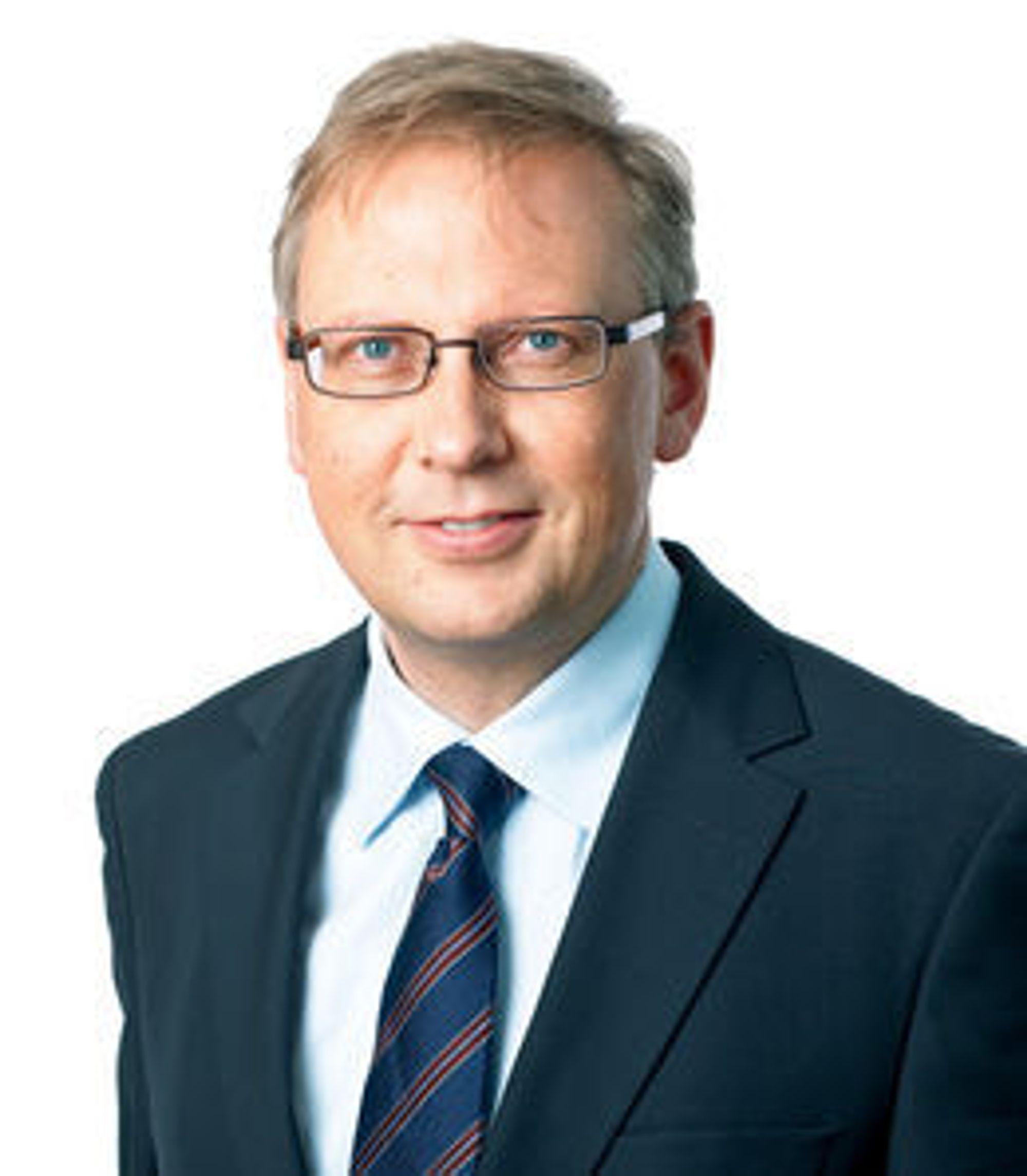 Geir Remman er kommunikasjonsdirektør i Evry.