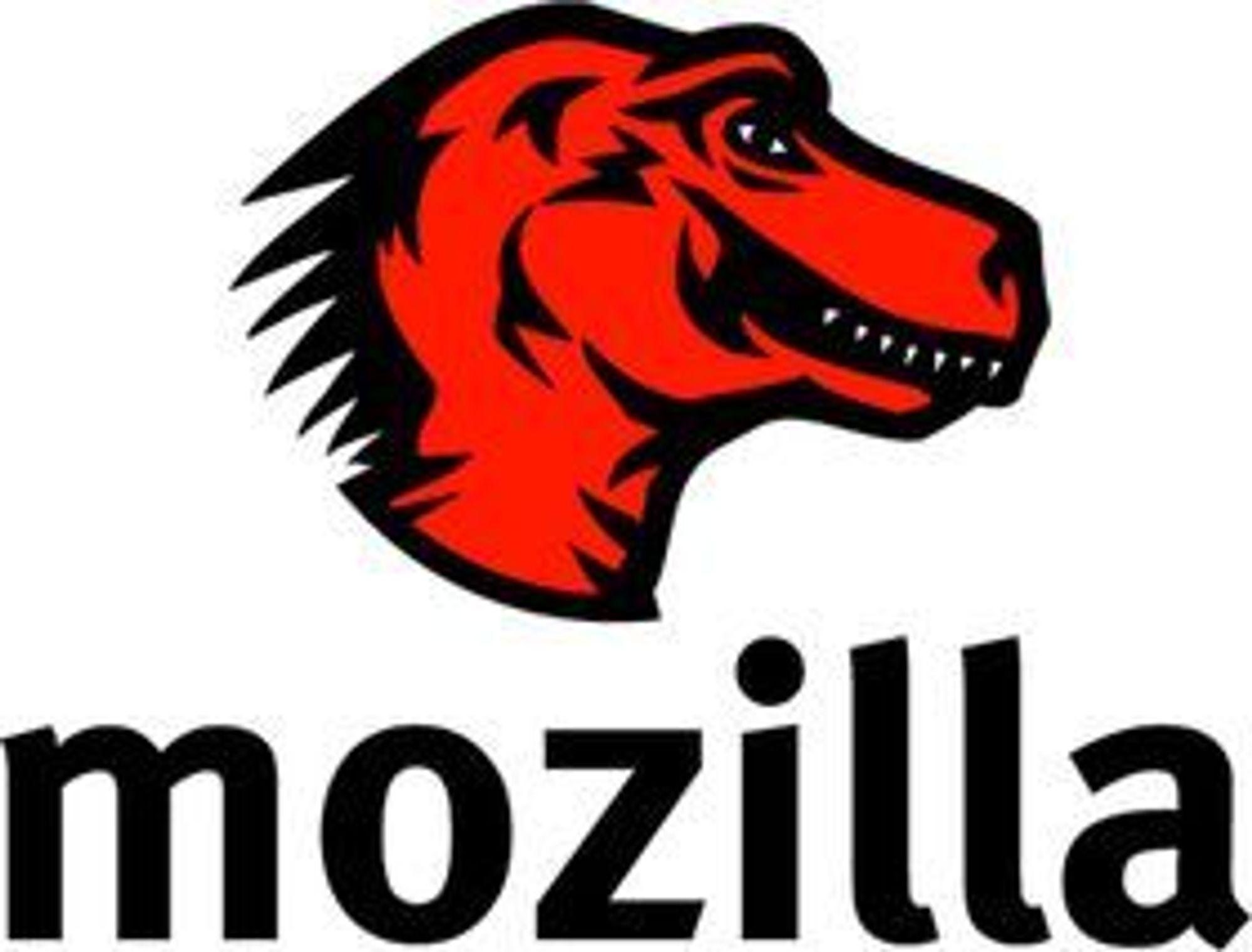 Mozilla-maskoten.