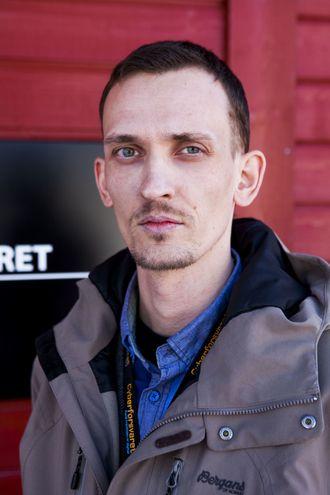Kommunikasjonssjef Knut Helge Grandhagen i Cyberforsvaret.