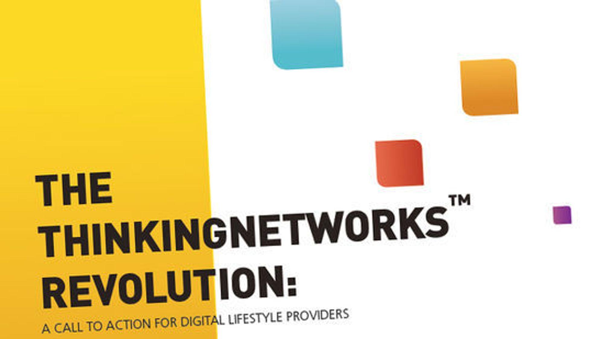 I hvitboken «The ThinkingNetworks Revolution» forklarer Tekelec hvordan mobiloperatører må omstille seg for å henge med i tiden.