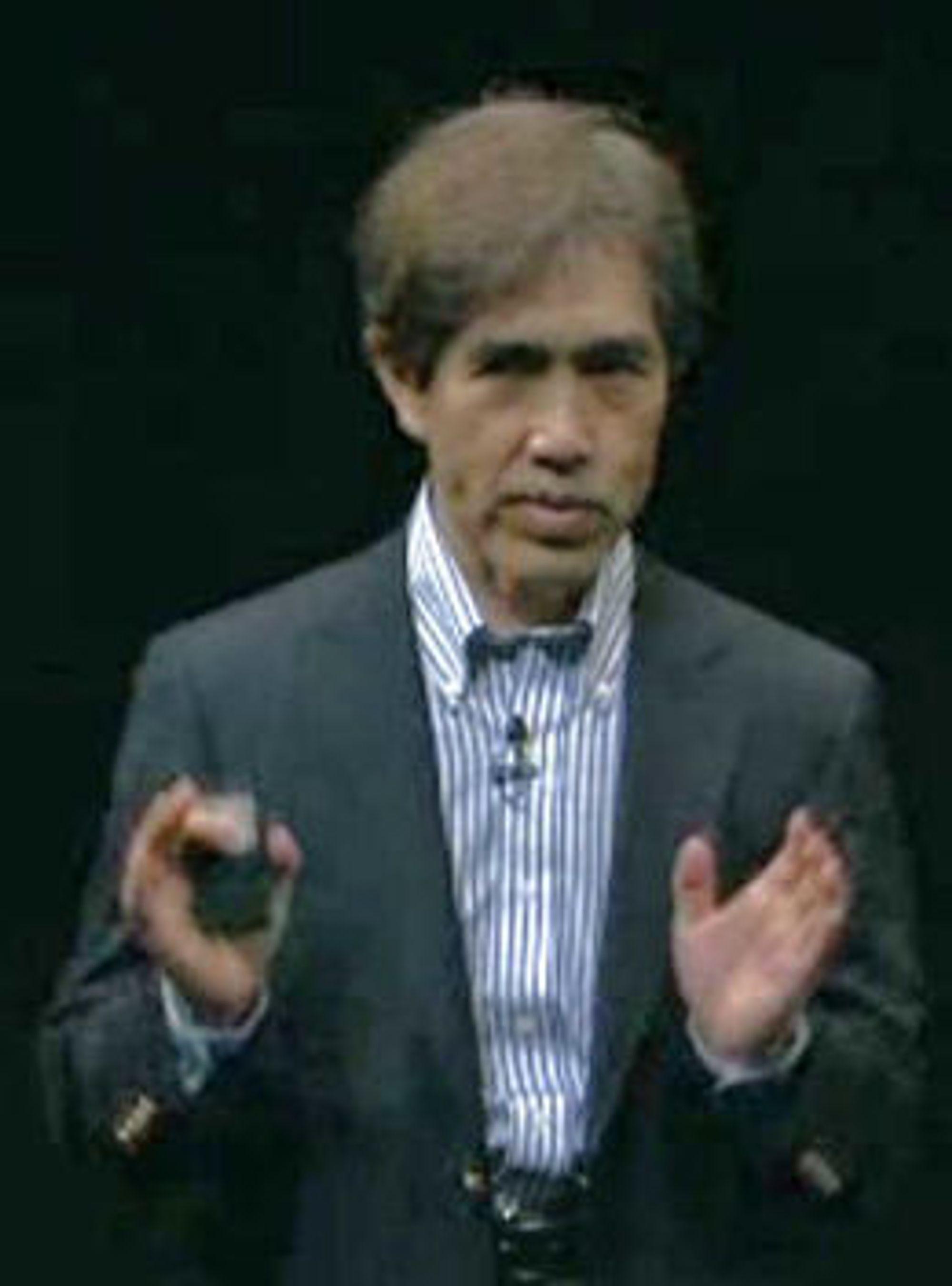 Goro Watanabe er senior visepresident og ansvarlig for forskning og utvikling i Fujitsu.