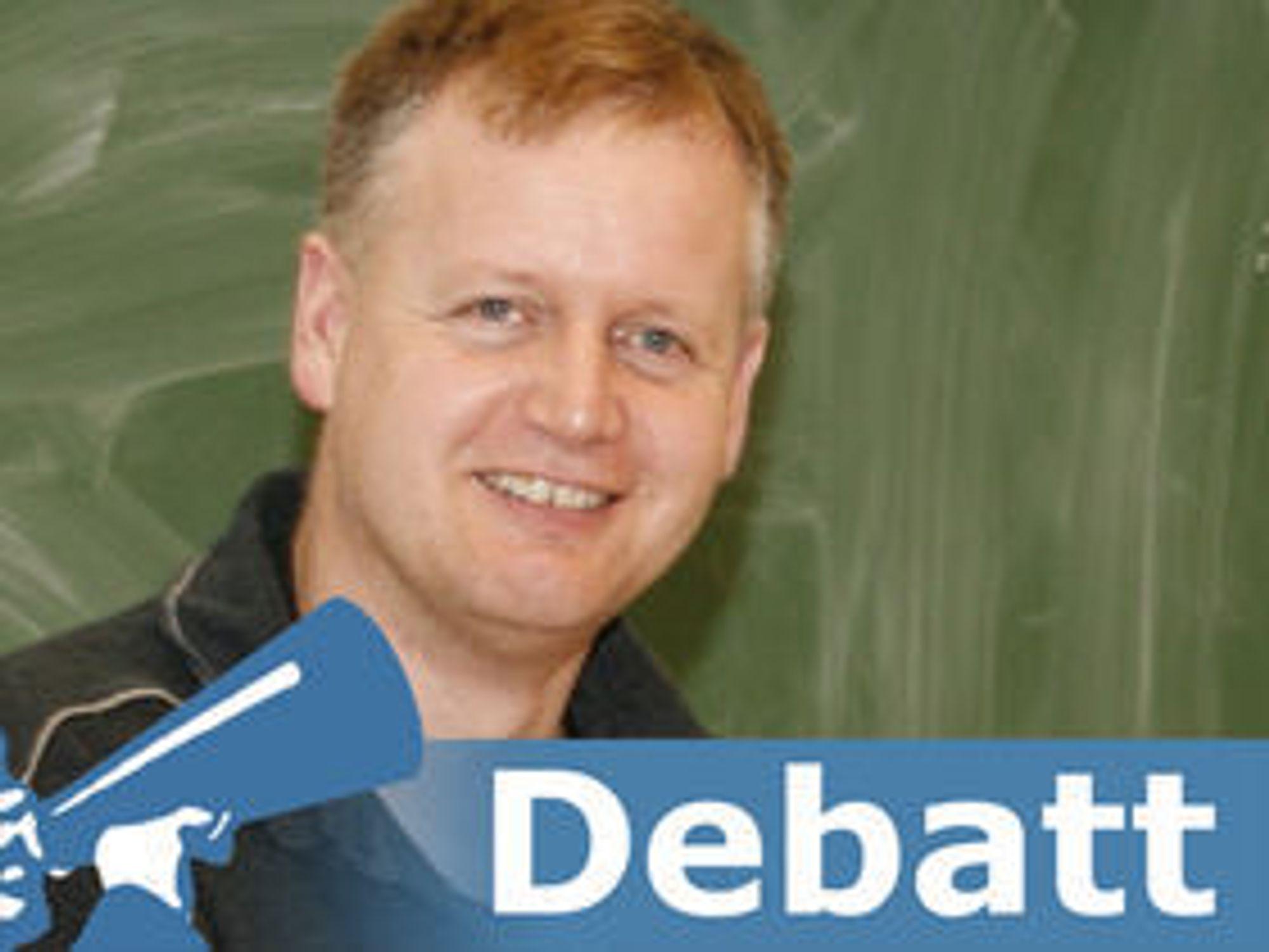 Knut Yrvin er leder av Fri programvare i skolen.