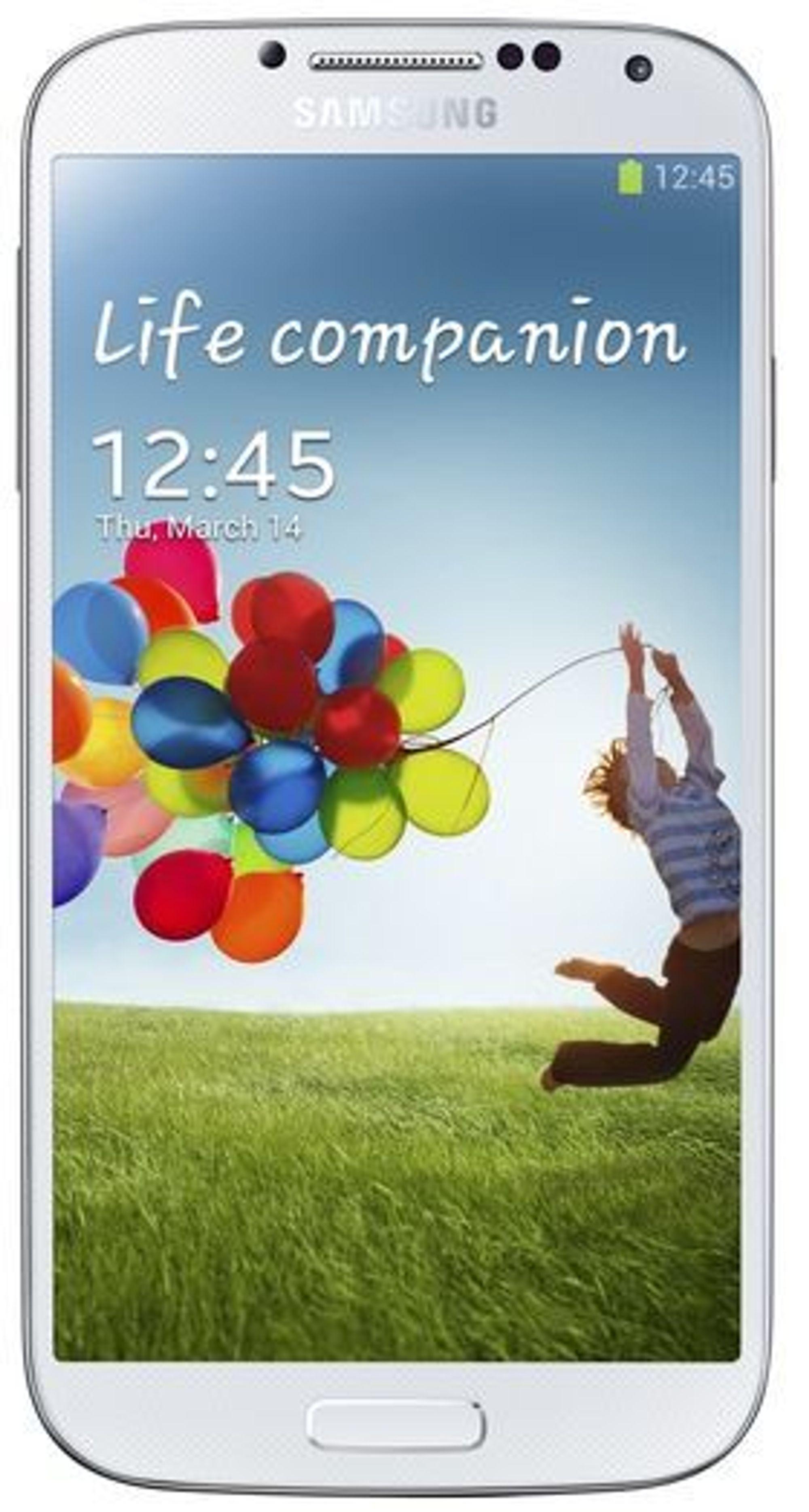 Samsung Galaxy S 4, som kommer i salg i andre kvartal, er den første mobilen som blir utstyrt med sikkerhetsløsningen Samsung Knox.