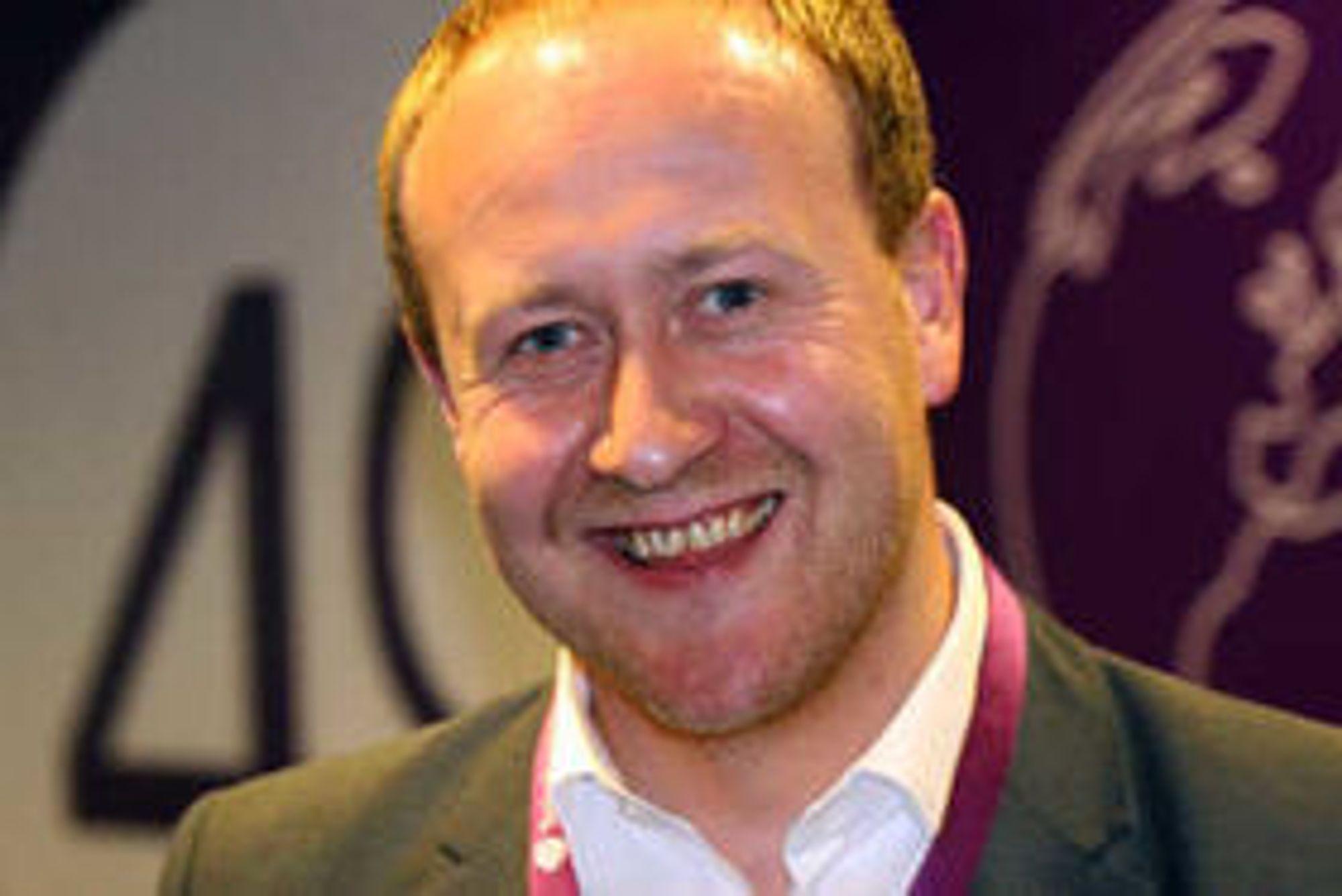 ENDELIG, sier Øyvind Vederhus i Netcom.