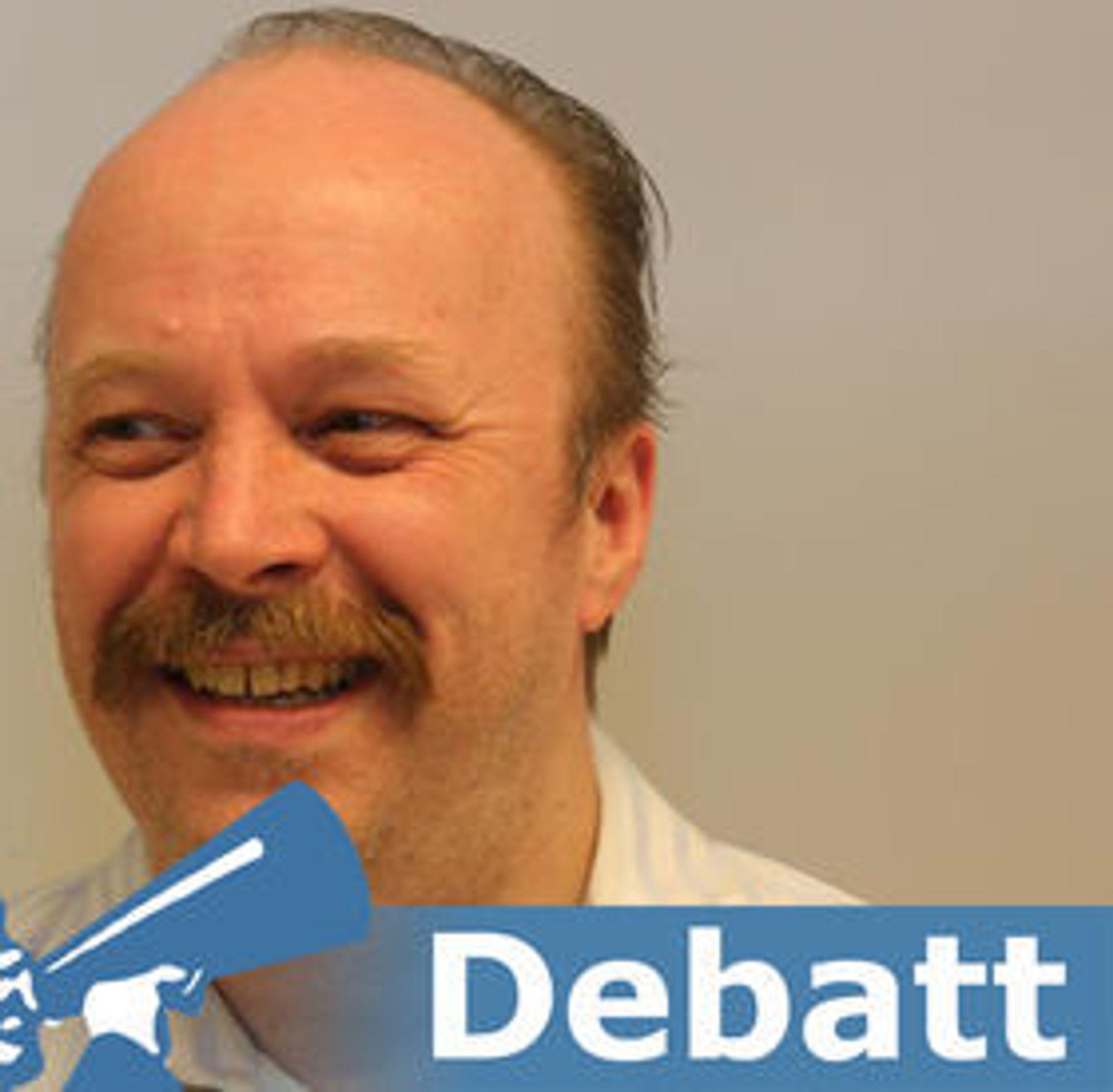 Geir Aaslid er leder i Piratpartiet