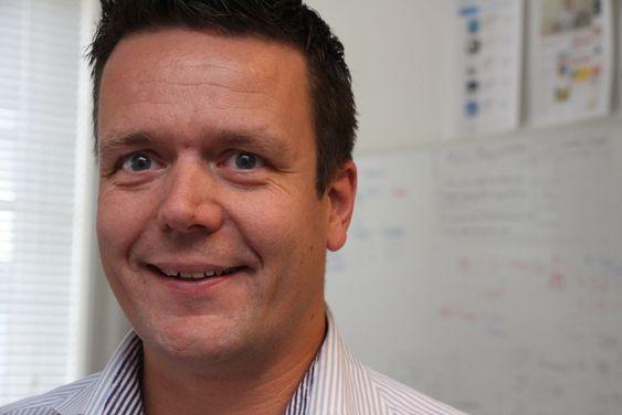 SPENT GRÜNDER: Tom-Erik von Krogh-Martinsen tror på god effekt av å få app-en og oppstartsbedriften Checkd eksponert i finalerunden av Mobile premier award.