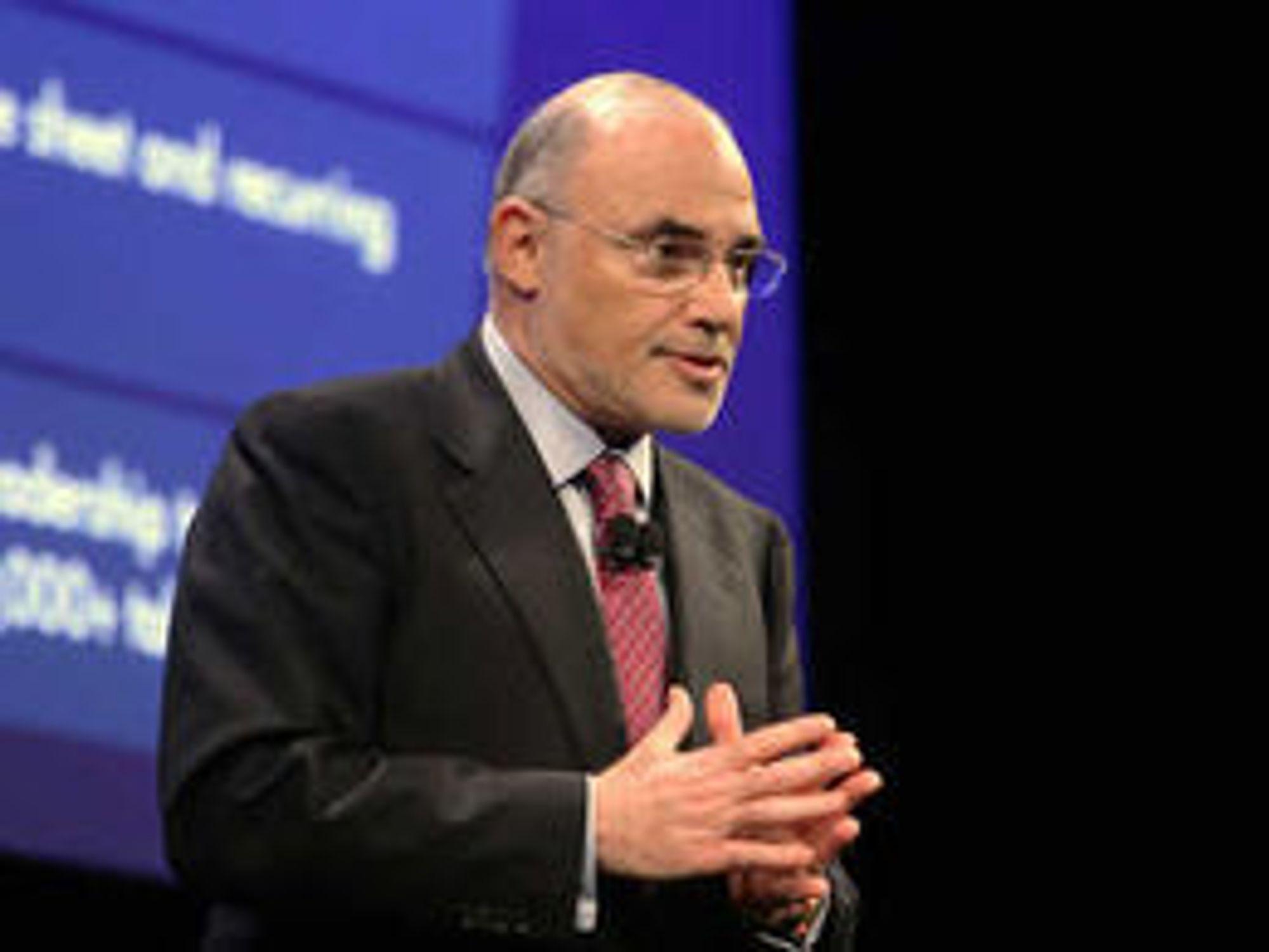 Leo Apotheker fikk sparken som toppsjef i HP etter oppkjøpet av Autonomy.