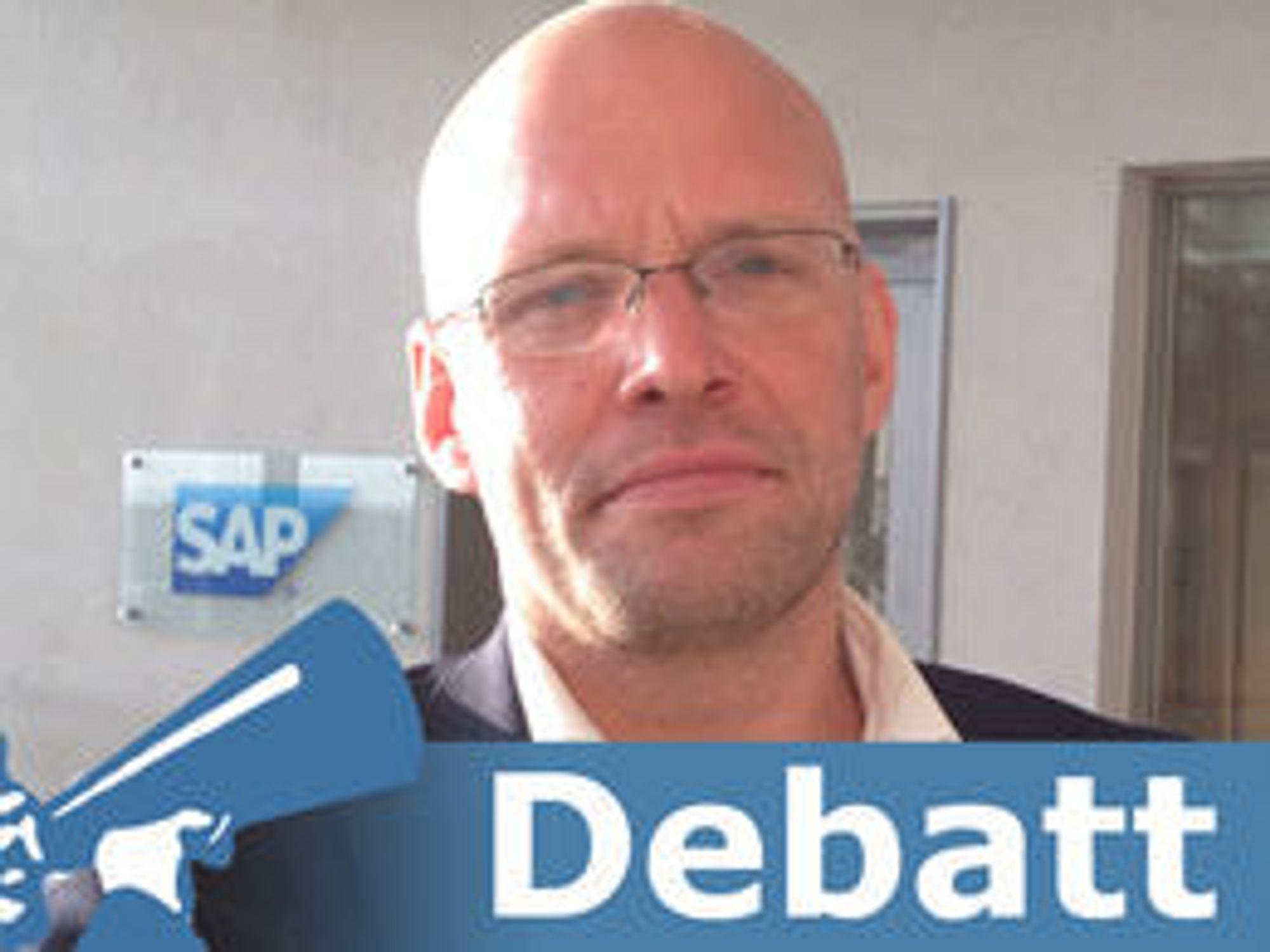 Per Haakon Lomsdalen er norgessjef i SAP