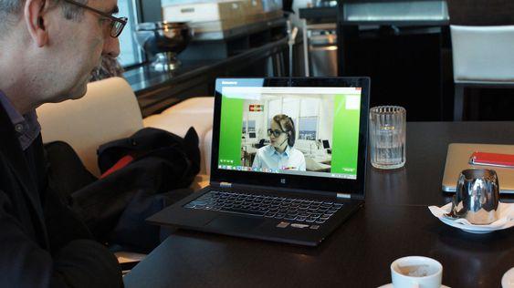 Polske mBank bruker teknologien for fullt, og 15 prosent av deres kunder benytter seg av videoløsningen jevnlig.