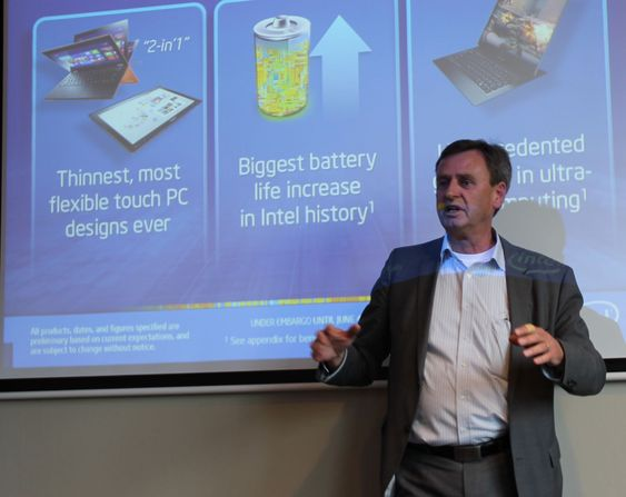 Selger Intanium så lenge noen vil ha, sier Intels teknologiekspert, Jan Östling