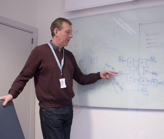 Var der i starten: Martin Ringel var i HP og jobbet med den Itaniumteknologien som skulle bli den store 64-bits prosessoren til Intel.