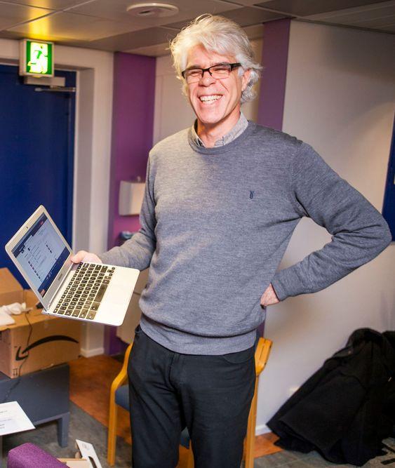 Bjørn Venn har erfart at han får gjort det han skal med en Chromebook.