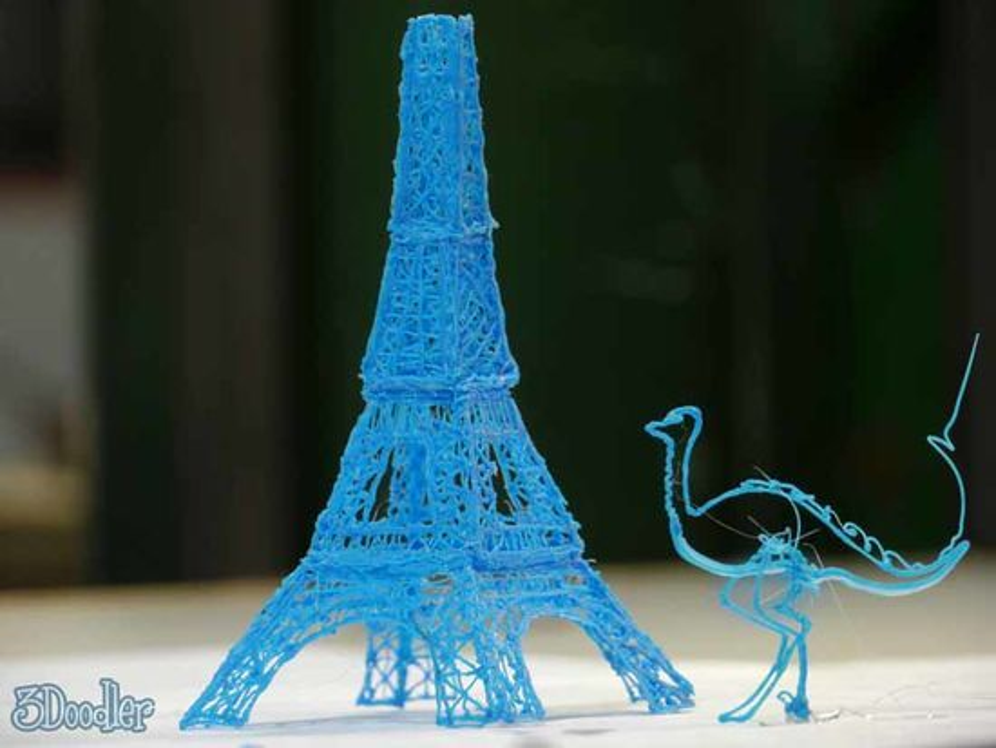Eiffel-tårnet lar seg modellere, med litt tålmodighet.