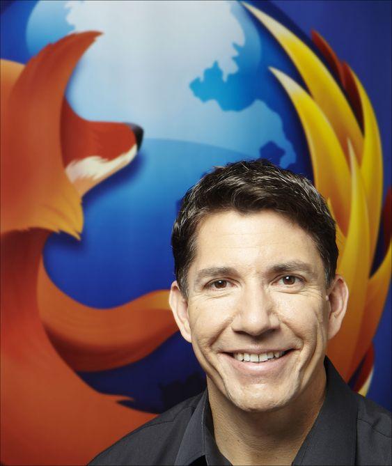 Mozillas toppsjef, Gary Kovacs, mener Telenor har vært viktig for at Firefox OS har blitt en realitet.