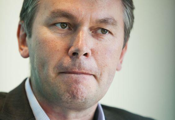 KALT INN: Roy Grønli i Accenture.