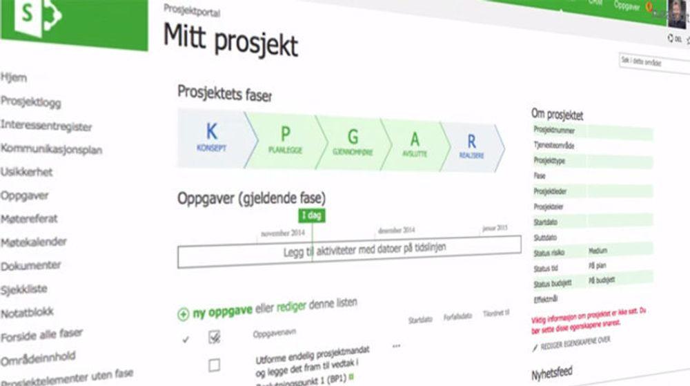 Asker kommune har samarbeidet med KommIT og IT-selskapene Puzzlepart og Microsoft om utviklingen av en nettbasert løsning for prosjekt- og porteføljestyring.