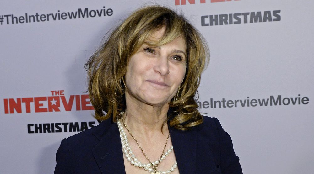 Amy Pascal forlater Sony.
