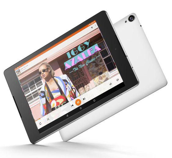Nettbrettet Nexus 9 leveres av HTC.