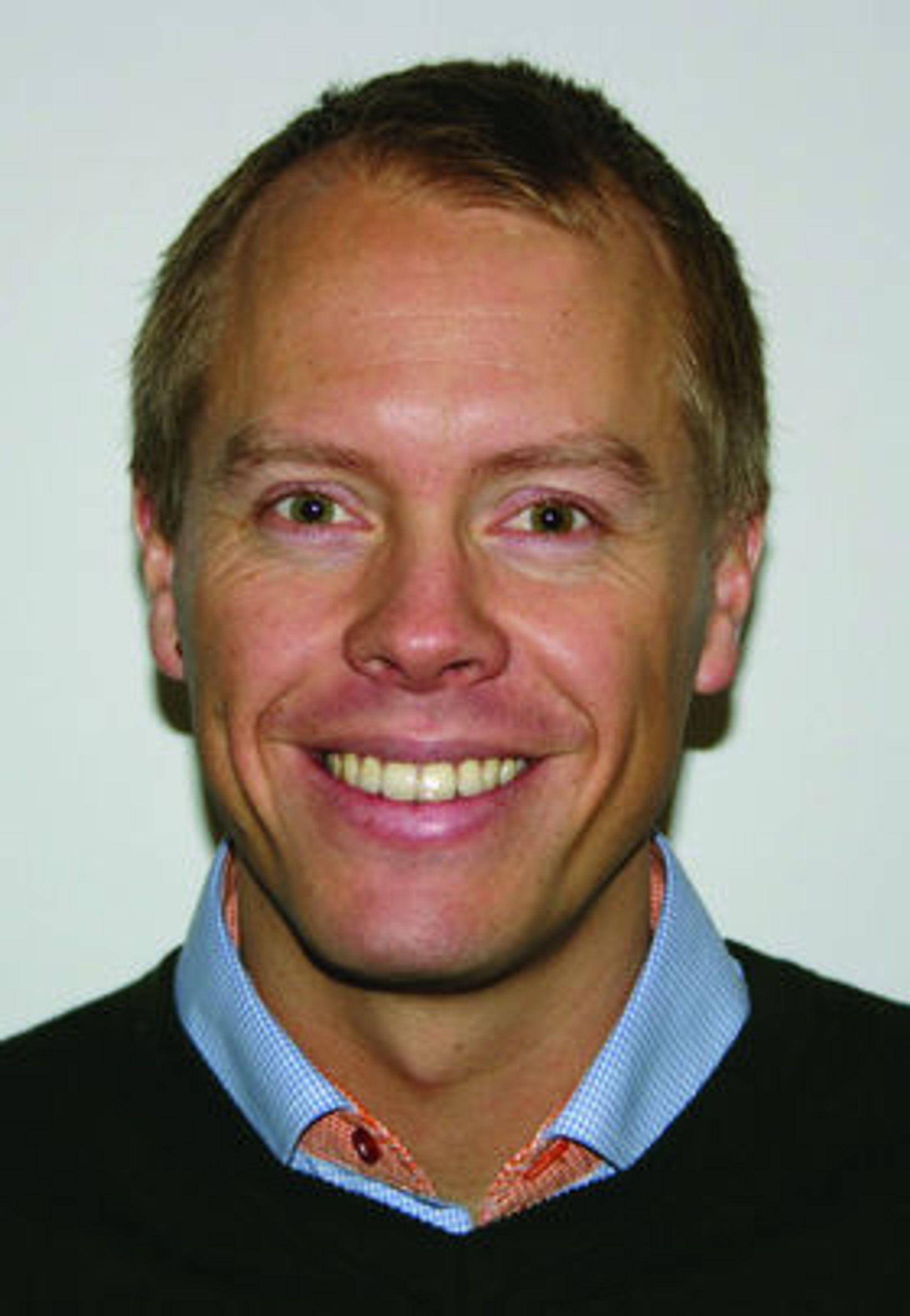 Lars Haakon Søraas er gründer av Legelisten.no AS.
