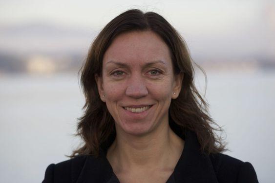 POSITIV TIL APPLE: Viktoria Erngard er ansvarlig for mobil betaling i Telenor.