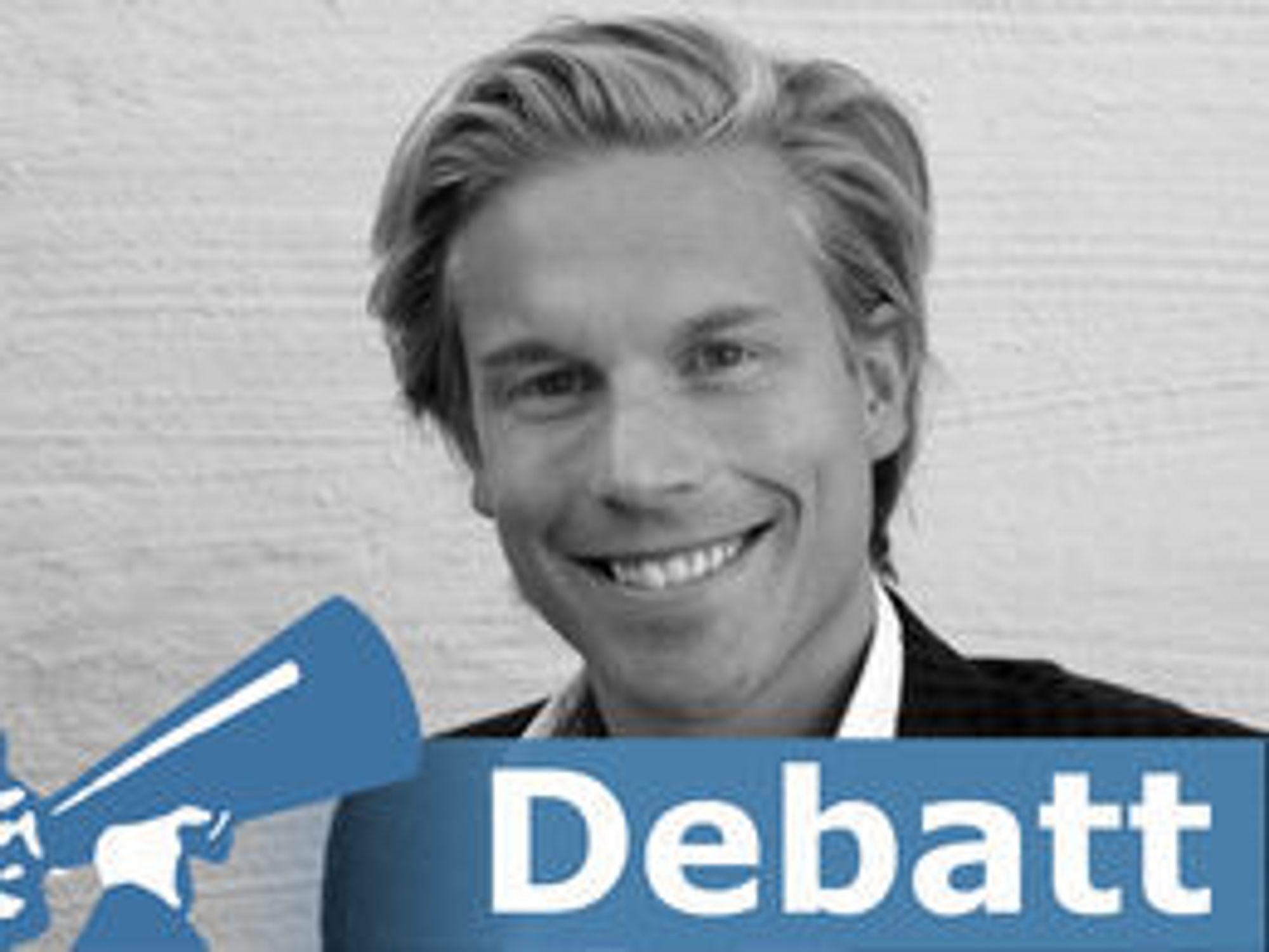 Christoffer O. Hernæs er påtroppende direktør for forretningsstrategi, innovasjon og analyse i SpareBank 1 Gruppen.